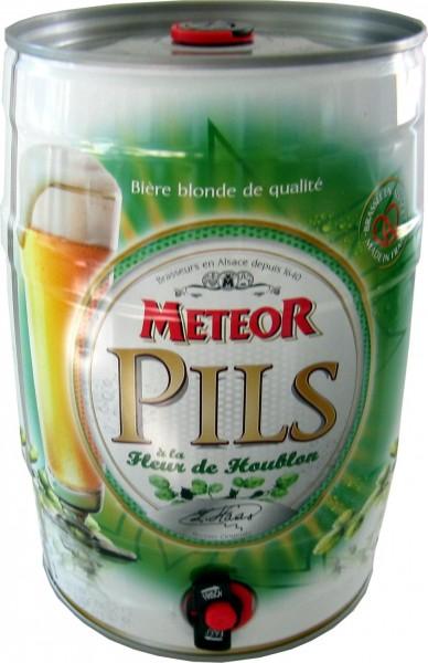 Meteor Pils 5 Liter Partyfass 5,0% vol.