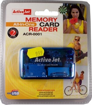 All-in-one Memory Card Reader
