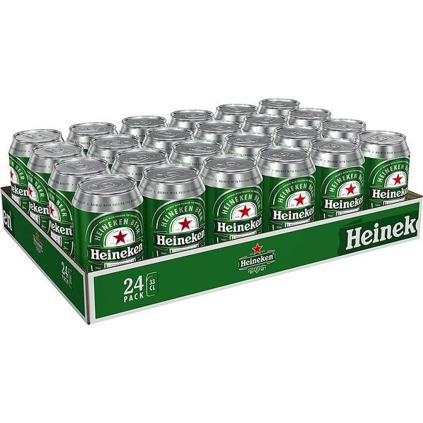 24x0,33L Dosen Heineken Lager Bier 5% Vol _EINWEG
