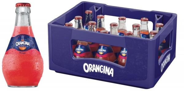 15 x Orangina Limonade rouge 0,25l Glasflasche in Originalkiste MEHRWEG