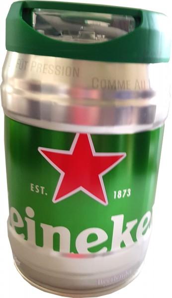 Heineken Partyfass 5L draughtkeg 5%vol.
