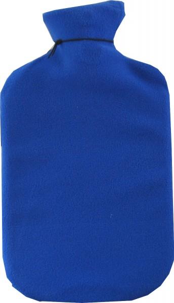 Wärmflasche mit Vliesbezug blau 6532 00