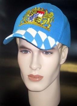 Kappe Bayern Schirmmütze Basecap mit aufweniger Bestickung