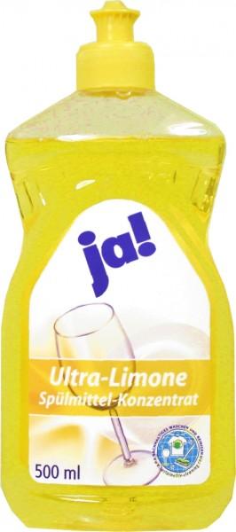 Geschirrspülmittel 0,5 Liter Ultra Limone ultra ergiebig