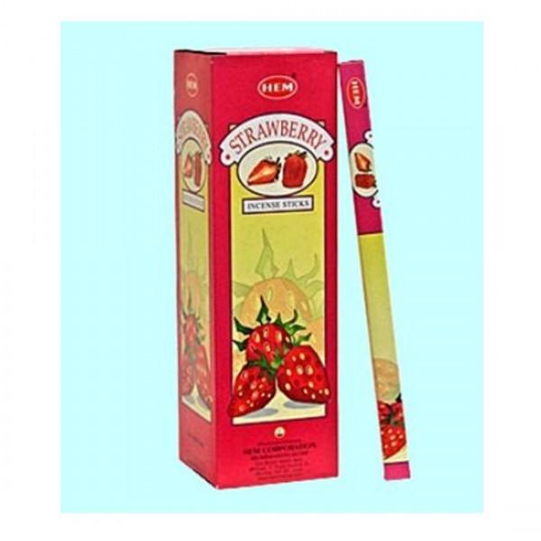 25 x Räucherstäbchen HEM Strawberry