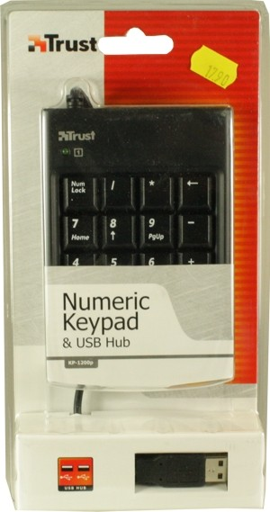 Trust Nummern Block Zehnertastatur