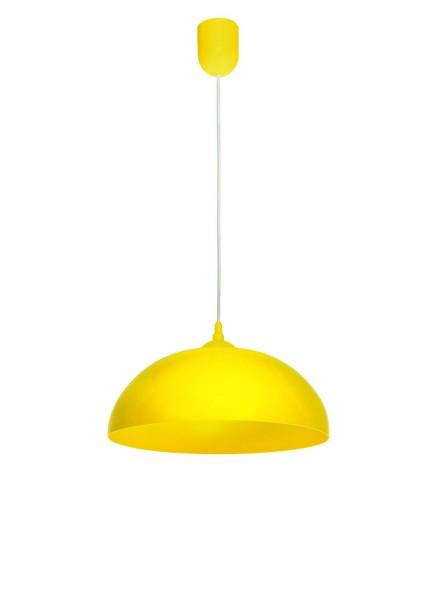 470/Z1 ZOL - Lampex Pendelleuchte Asko gelb PVC 70 x 36 cm