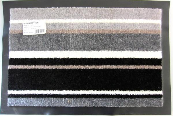 Rubin-Matten Schmutzfangmatte streifen design 39 x 59 cm verschiedene Farben