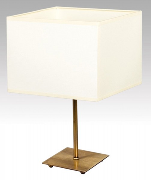 075/LM - Lampex Tischleuchte Plaza metal/shade PVC 33 x 20 cm