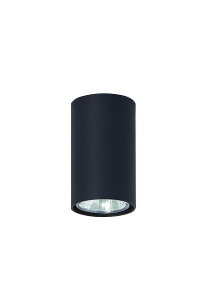 483/G - Lampex Deckenleuchte Simba schwarz metal 10 x 6 cm