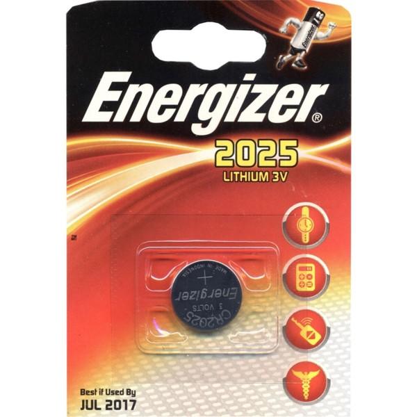 Energizer CR2025 Knopfzelle Lithium 3V - MHD JULI 2020