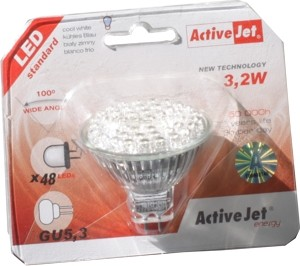 GU 5,3 LED Leuchte 3,2W