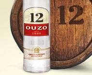 6 x Ouzo 12 Original 12 - 0,7 L 38% vol. Spirituose