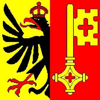 Fahne Genf 90 x150 cm