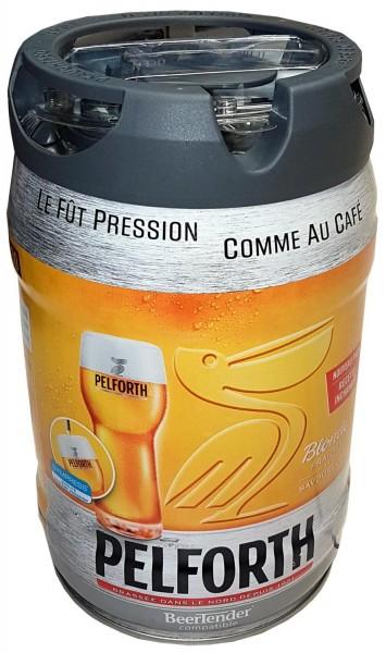 Pelforth bier blonde 5 Liter Partyfass 5,8% vol. mit Zapfhahn
