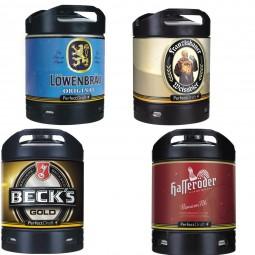 4x Perfect Draft Verschiedene Sorten 6 Liter Alkoholgehalt siehe Beschreibung