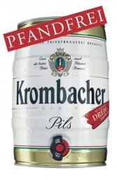 Krombacher Partyfass 5 Liter 4,8% vol
