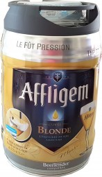 Affligem blonde Partyfass 5 Liter Fass inkl. Zapfhahn 6,8% vol.