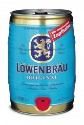 4 x Löwenbräu 5 Liter 5,2% vol. Partyfass