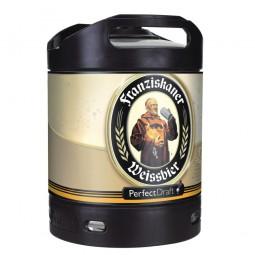 Franziskaner Weissbier Perfect Draft 6 Liter Fass 5,0 % vol.