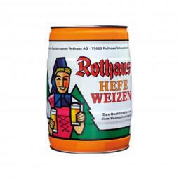 2 x Rothaus Hefeweizen 5 L Partyfass5,4% vol
