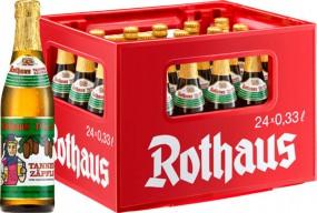 24 x Rothaus Tannenzäpfle 0,33 L- 5,1 % Alkohol Originalkiste