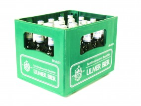 20 x Ulmer Export 0,5 Liter 5,4% vol. Originalkiste