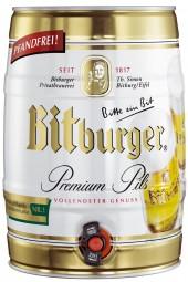 Bitburger Premium Pils 5 Liter Partyfass 4,8% vol